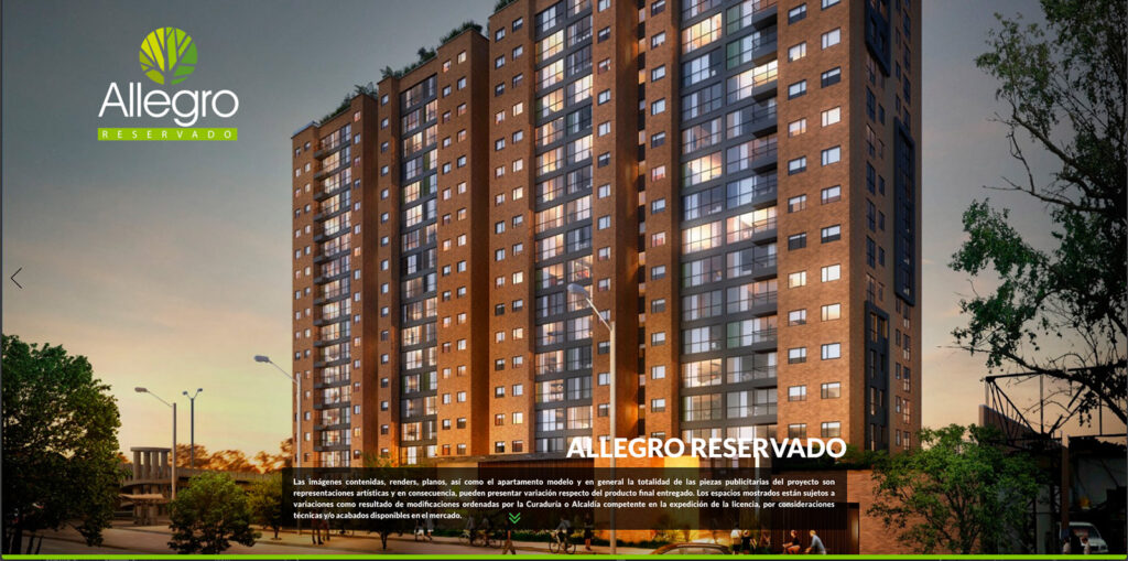 Allegro Reservado